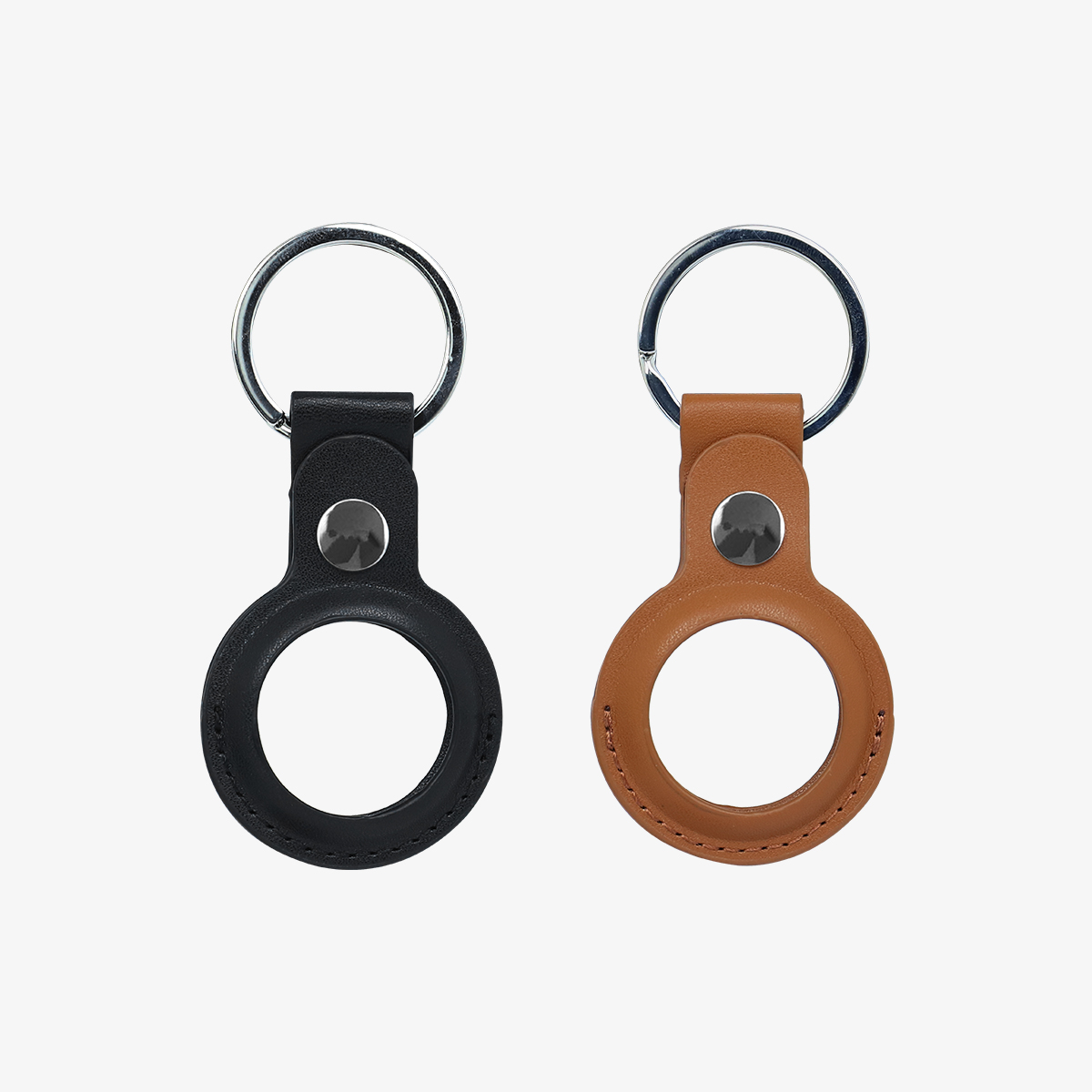 inno3C   For AirTag Leather Protective Case Set