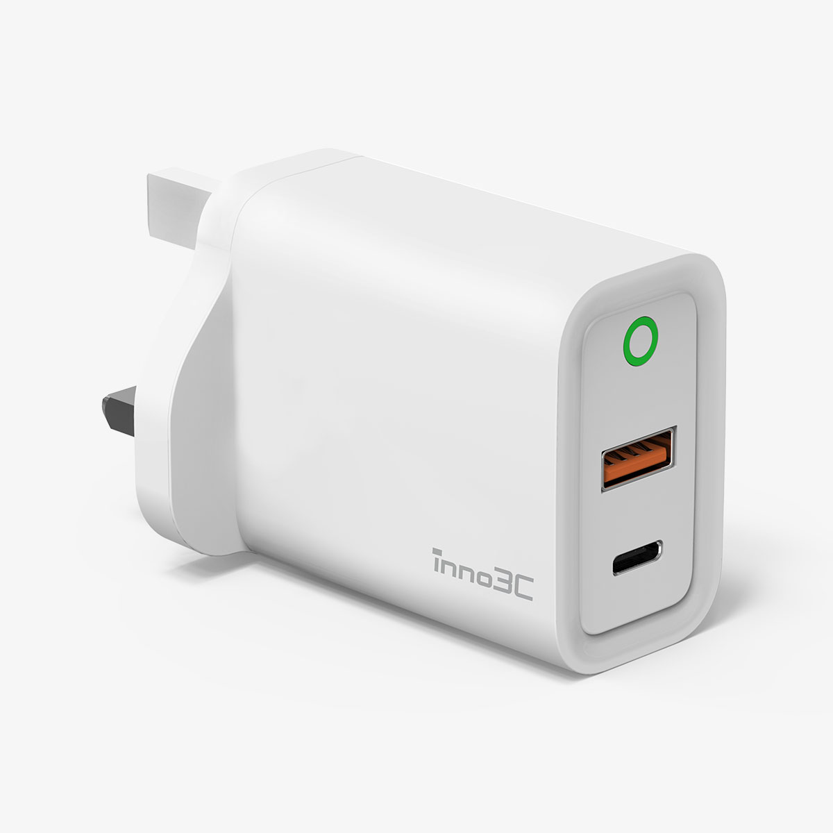 inno3C   PD 30W Dual Port Fast Charger